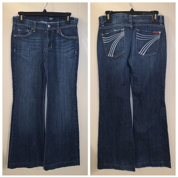 "7 For All Mankind Denim - Seven ""dojo""  jeans"